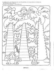 free printable tree trace worksheet (8)