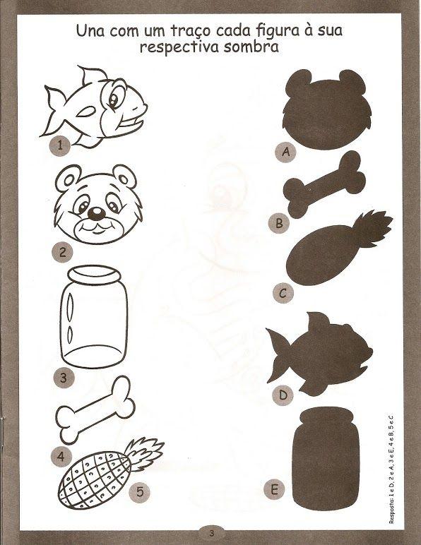 free shadow worksheet for kids