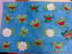 frog bulletin board