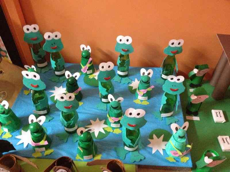 frog bulletin board idea