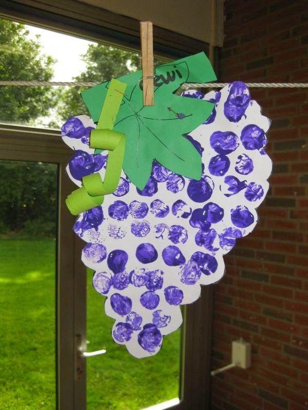 grapes crafts