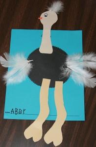 ostrich craft