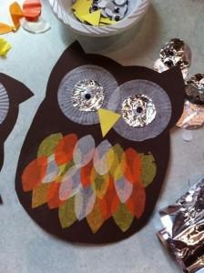 owl craft idea for kids