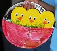 paper plate bird craft idea for kids (2)