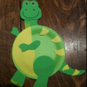 paper plate dinosaur craft idea (9)