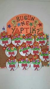 paper plate flower craft