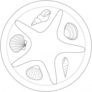 sea animal mandala coloring (7)