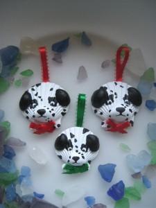 seashell dog craft