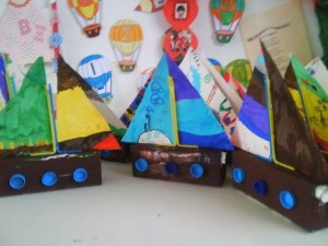 juice box sailbot craft