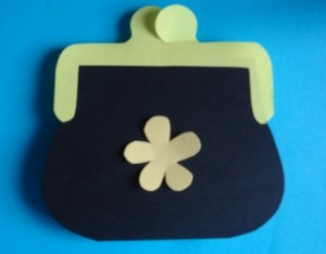 mother's day  Purse card craft (3)