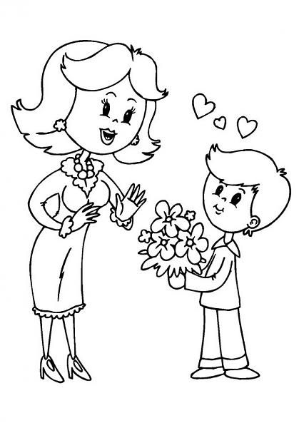 mother's day coloring page (11)
