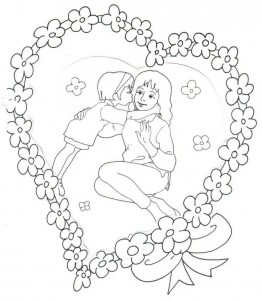mother's day coloring page (14)