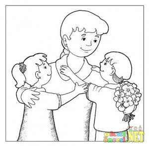 mother's day coloring page (1)