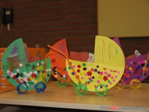baby carriage craft craft idea