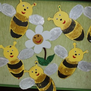 bee craft idea for kids (6)