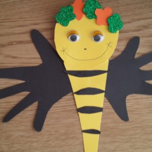 bee craft idea for kids (9)