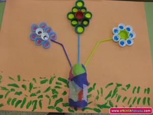 bottle cap flower