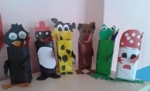 box animals craft idea