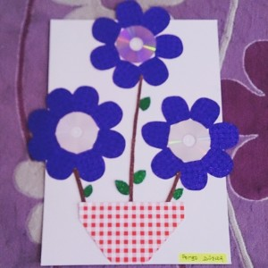 cd flower craft (2)