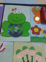 cd frog crafts
