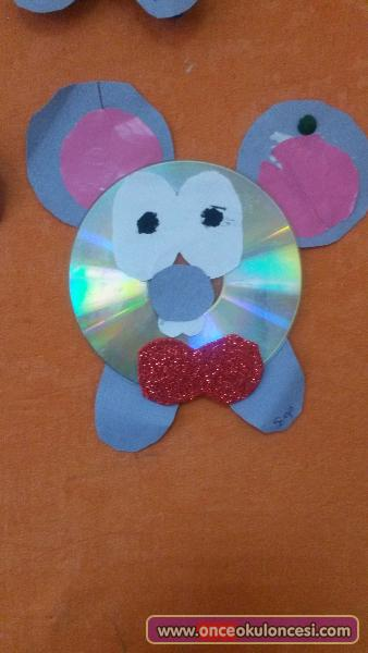 cd mouse craft idea for kids