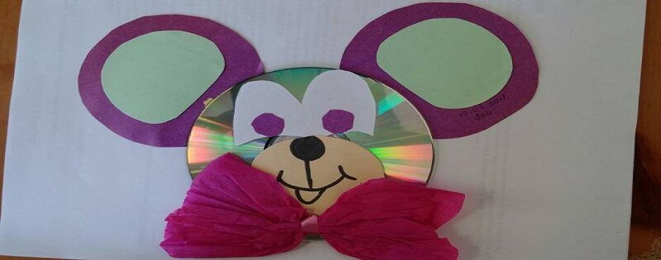 cd mouse craft idea