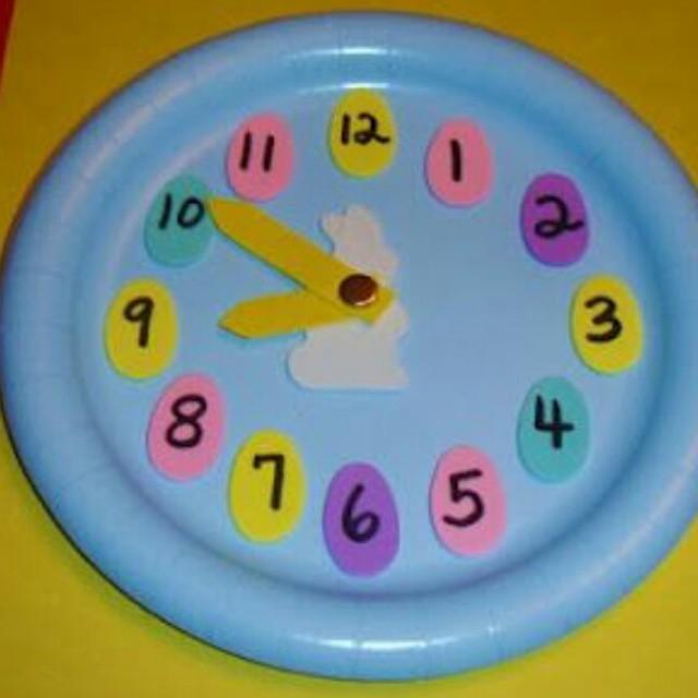 clock craft idea for kids (1)