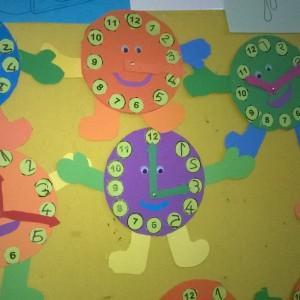 clock craft idea for kids (3)