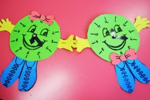 clock craft idea for kids