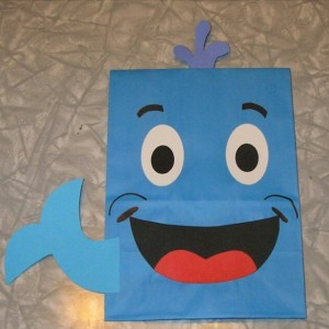 dolphin craft idea for kids