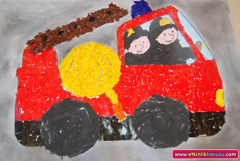 fire truck craft (2)