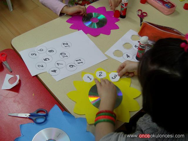 flower clock craft (3)