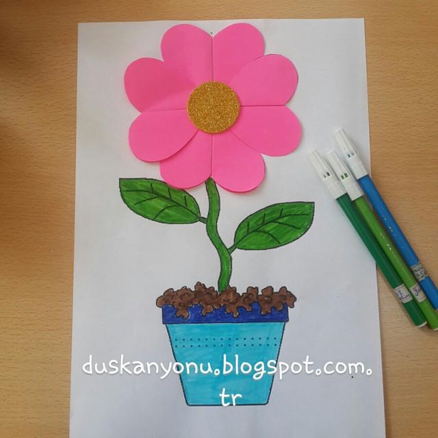 flower craft idea for kids (6)