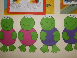 free frog craft idea for kids (1)
