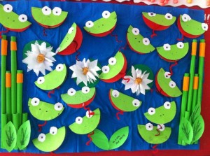 free frog craft idea for kids (3)
