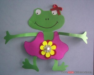 free frog craft idea for kids (4)