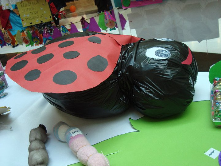 free ladybug craft