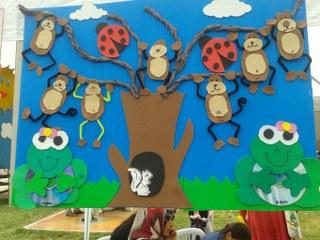 free monkey craft idea for kids (4)