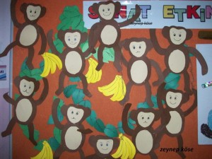 free monkey craft idea for kids (5)