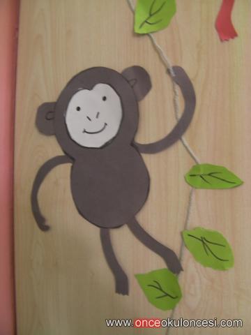 free monkey craft idea for kids (7)