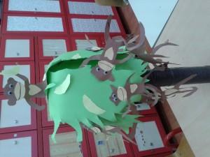free monkey craft idea for kids (8)