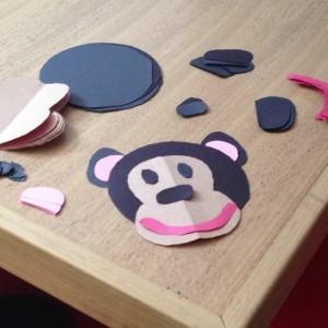 free monkey craft idea for kids (9)