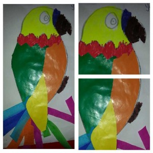 free parrot craft idea for kids (3)