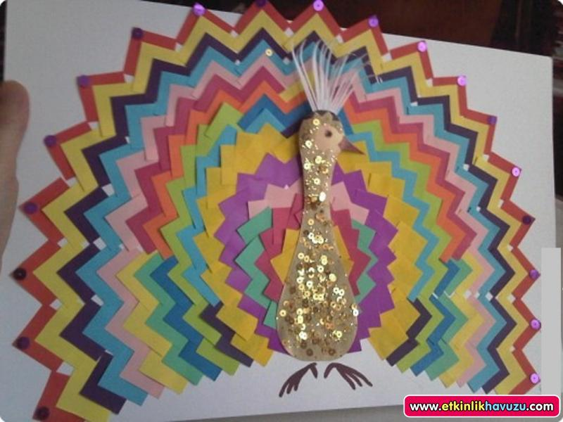 free peacock craft idea for kids (1)
