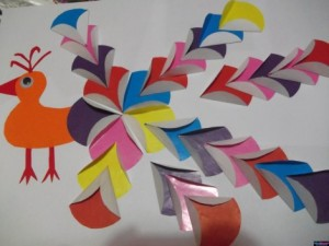 free peacock craft idea for kids (13)