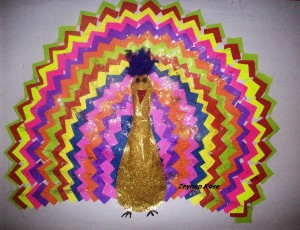free peacock craft idea for kids (3)