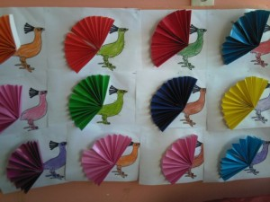 free peacock craft idea for kids (6)