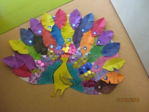 free peacock craft idea for kids (7)