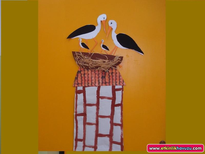 Free Stork Craft Idea 1 Crafts And Worksheets For Preschool