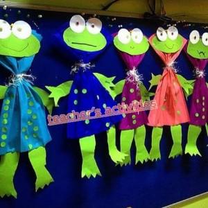 frog craft idea for kids (1)
